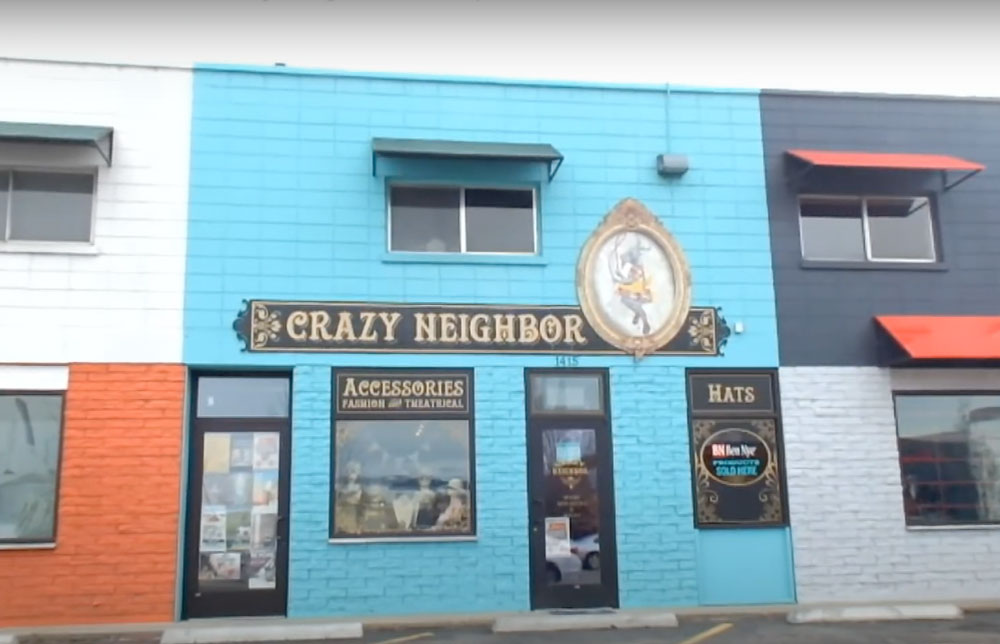 Crazy Neighbor - costume shop in downtown Boise