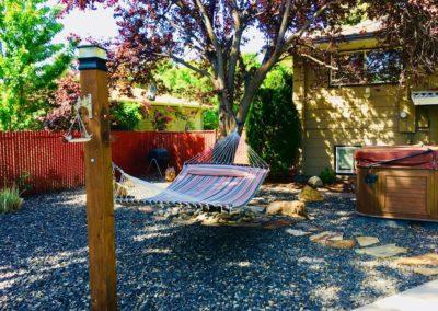 Backyard in Boise's Bench neighborhood