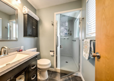 Master bath of Boise Bench home