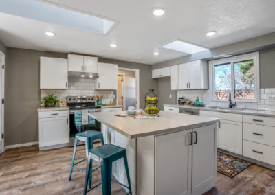 Large kitchen island remodel in Boise