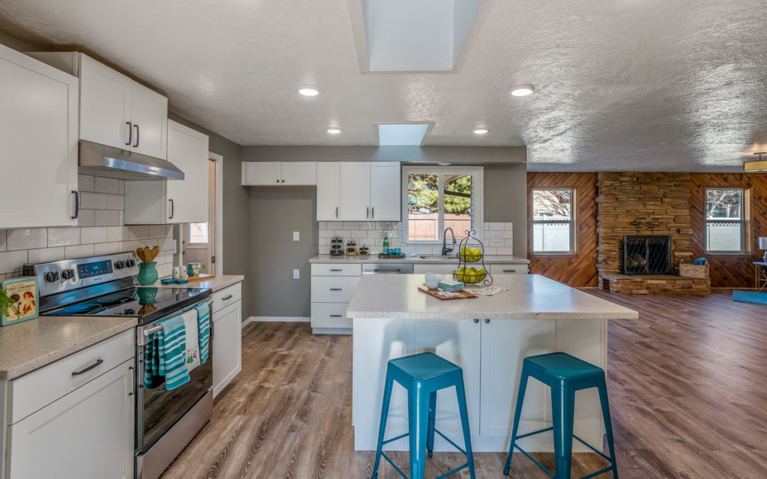 open concept house in Boise, Idaho