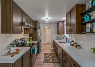 MCM kitchen remodel in Boise
