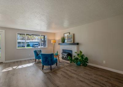 MCM home in Boise livingroom